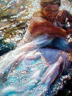 Mosaic lady    #decoration #mosaic
