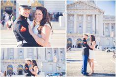 Military Wedding | Civil Wedding | San Francisco Civil Union | Poses Wedding | Poses Couple | Rubidia C Photography