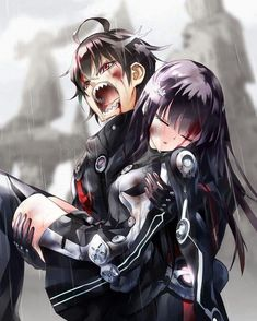 Rokuro and Benio/ twin star exorcists Cute Couple Art, Anime Love Couple, Manga Couple, Anime Couples Manga, Cute Anime Couples, Manga Anime, Dark Anime, Adashino Benio, Rokuro And Benio