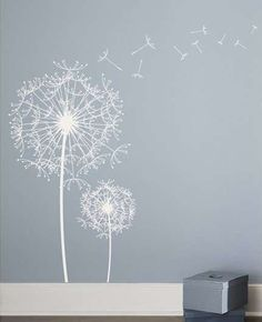 Dandelion Wall Decal Sticker by ArtConductor on Etsy - Stylehive