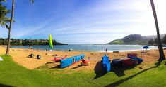 Blue skies and calm waters on Kauai's Kalapaki Beach...#gohawaii #hawaii #travel #vacation #MyHometownPins