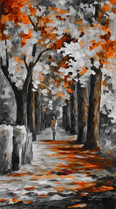 Great art by: Wow Art (YöuTube) Black Canvas Paintings, Texture Painting On Canvas, Oil Painting Abstract, Acrylic Painting Canvas, Canvas Art, Autumn Painting, Knife Painting, Black Painting, City Painting