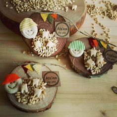 Imanes de trigo y dientes - First Tooth, Baby Shower Favors, Party, Gifts, Woodcarving, Food, Babyshower, Magnets, Teeth
