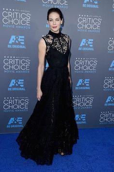Michelle Monaghan in Elie Saab at Critics' Choice Awards 2015