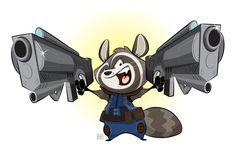 Rocket Raccoon #JamesGunn #SeanGunn #BradleyCooper #GuardiansoftheGalaxy #RocketRaccoon