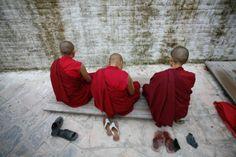 Monaci tibetani a Kathmandu