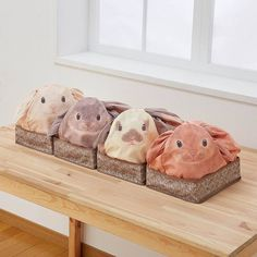 Les designers de la marque japonaise YOU+MORE ont imaginé lesBunny Bags…