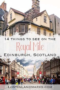 Edinburgh Royal Mile Attractions – 14 not to miss!, TRAVEL, 14 things to see on the Royal Mile in Edinburgh, Scotland. There's so much to do just on this one street in the old town of Edinburgh! Here's a guide . Royal Mile Edinburgh, Edinburgh Travel, Visit Edinburgh, Edinburgh City, Scotland Vacation, Scotland Travel, Ireland Travel, Scotland Trip, Inverness Scotland