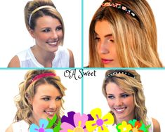 Headband Hairstyles, Cute Hairstyles, Sweet Band, Comfort Style, Stylish Hair, Hair Accessory, Comfortable Fashion, Hair Inspiration, Headbands