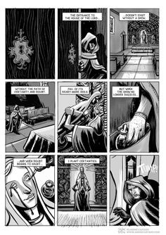 Miracle Worker comic book story by André Caetano, via Behance