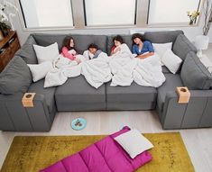 Sactional: Modular Couch Lets You Create Any Seating Arrangement Lovesac Sactional: Modular Sectional Couch Lets You Create Any Seating Arrangement