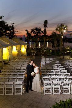 Sunset Outdoor Wedding Evening Dresses