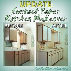 how to change rental kitchen cabinets