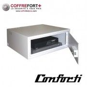 Coffre-fort pour vidéo enregistreur avec Serrure à clé CONFORTI - ATV02N