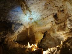 1) Explore the Caverns of Sonora in Sonora, TX; it's about a 4 hour's drive northwest of San Antonio, but it's totally worth it to explore the caves.