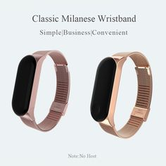 Mi Band 3 Wrist Strap Metal Screwless Stainless Steel For Xiaomi Mi Band 3 Strap Bracelet Miband 3 Wristbands Pulseira Fitbit Flex, 30, Consumer Electronics, Stainless Steel, Skinny, Band, Metal, Bracelets, Dumpster Diving
