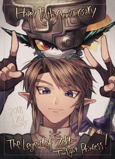 My second favorite Zelda game! Legend Of Zelda Midna, Legend Of Zelda Memes, Legend Of Zelda Breath, Link And Midna, Link Zelda, Twilight Princess Midna, Princesa Zelda, Elfa, Hyrule Warriors