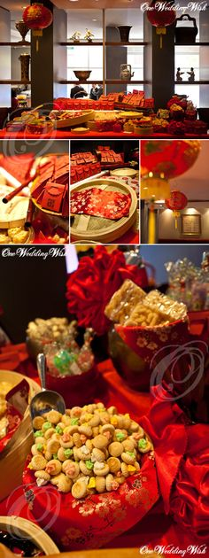 Chinese themed wedding - RED!