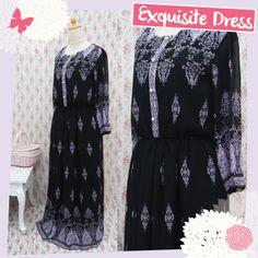 Exquisite Dress made from chiffon  #handmade #dress #chiffon #fashion