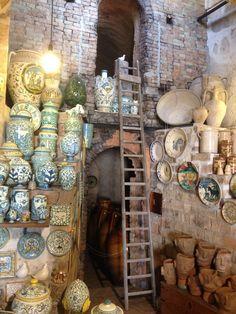 Bottega ceramica Antonio Fasano - Grottaglie