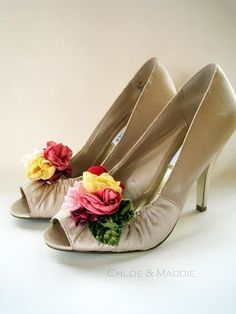 Shoe clips - pretty for a wedding or prom