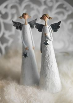 Paper mache dolls, angel, fairy