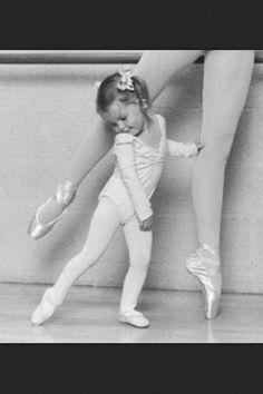 #balerina like mother like daughter