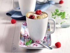 Himbeer-Minz-Mug-Cakes