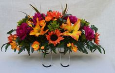 fall cemetery flower arrangements - Yahoo Image Search Results