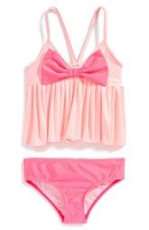 Love U Lots Two-Piece Swimsuit (Toddler Girls & Little Girls)