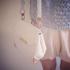 #slingbag #bag #white #fashion