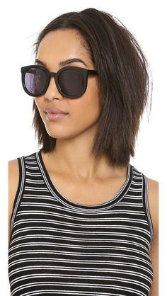 b38858ba67f Karen Walker Super Duper Strength Sunglasses Cat Eye Sunglasses