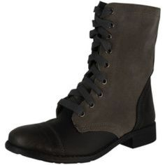 Wanted Lace Up Boots
