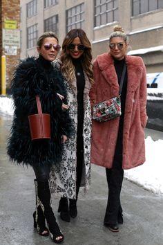 Fall 2017 New York Fashion Week Street Style - February 2017 #nyfw