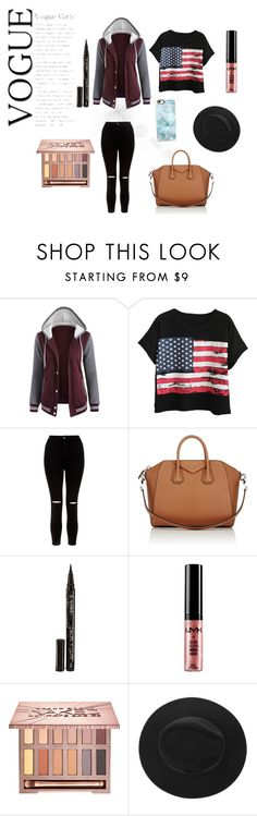 """""""Bts"""" by badgirl0798 ❤ liked on Polyvore featuring Chicnova Fashion, New Look, Givenchy, Smith & Cult, NYX, Urban Decay and Casetify"""