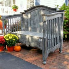 Old baby bed...neat!