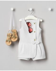 We've thoughtfully hand-assembled the very best baby items. All you do is si… We've thoughtfully hand-assembled the very best baby items. All you do is sign the card (and take all the credit). Baby Outfits, Newborn Outfits, Little Girl Dresses, Kids Outfits, Cute Outfits, Newborn Clothing, Kids Clothing, Baby Skirt, Baby Dress