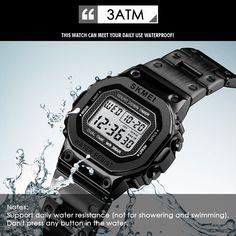 SKMEI 1433 Women Analog Digital Electronic Watch black Online Shopping | Tomtop Smartwatch, Apple Technology, Casio Watch, Online Shopping, Electronics, Watches, Digital, Black, Women