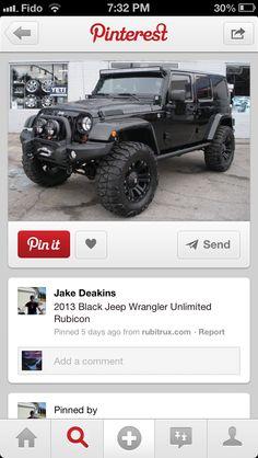 Love the jeep rubicon