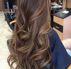 Long brown hair subtle highlights♥♥
