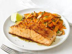 25-Minute Salmon Supper
