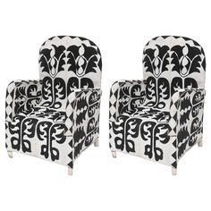 Beaded African Chairs | From a unique collection of antique and modern chairs at https://www.1stdibs.com/furniture/seating/chairs/
