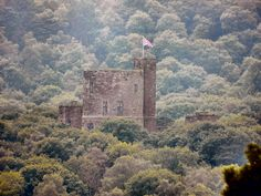 The Tower of Peckforton Castle in Cheshire, England. Built in the style of a medieval castle in the 19th century, now used as a hotel