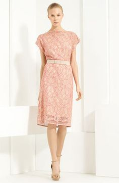 5e8f145854 Lida Baday Belted Lace Dress - ShopStyle Day