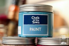 Chalk Of The Town® Paint- Χρώματα Κιμωλίας - Χρωμα Κιμωλιας Colors, Colour, Color, Paint Colors, Hue