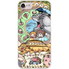 My Neighbor Totoro Cell Phone Case Cover for Apple iPhone 4 4s 5 5s SE 5c 6 6s 7 Plus