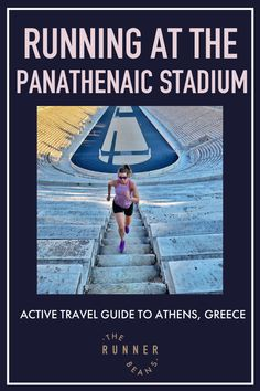 Running around the panathenaic stadium in Athens, Greece should be on every runners bucket list. Here's how to plan your travel to Athens with this active travel guide and run around the panathenaic stadium #panathenaicstadium #panathenaicstadiumathens #athenstravelguide #athens #therunnerbeans 1896 Olympics, Running Tips Beginner, Running Techniques, Home Exercise Routines, Marathon Runners, We Run, Run Around, Travel Activities, Athens Greece