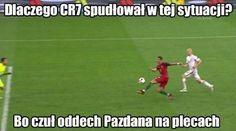 Dlaczego Cristiano Ronaldo spudłował w tej sytuacji? • Memy po meczu Polska Portugalia • Ronaldo czuł oddech Pazdana na plecach >> #pazdan #ronaldo #cristianoronaldo #pol #polska #portugalia #euro #euro2016 #football #soccer #sports #pilkanozna #memy