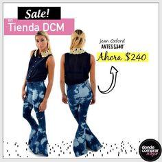 ¡Imperdible este jean oxford a sólo $240!  Compralo en ➜ www.tiendadcm.com/venta/Jean+Oxford+Batik/79442