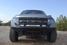 Buy 2010-2014 Ford Raptor Front Bumper Stealth Fighter at RaptorParts
